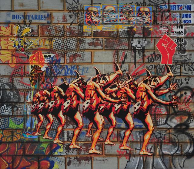 , 'The long walk from freedom,' 2015, Worldart