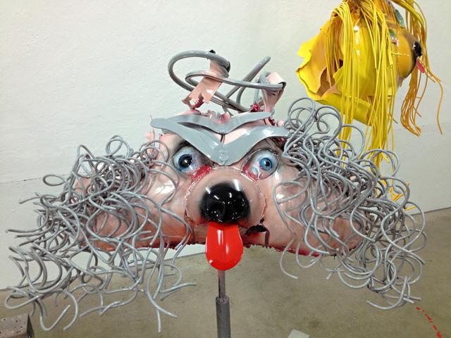 Stefan Kern, 'SR', 2015, Sculpture, Aluminium, lacquered, Galerie Karin Guenther