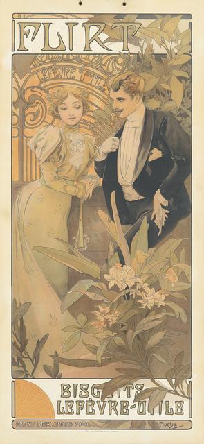 , 'Flirt,' 1900, Rennert's Gallery
