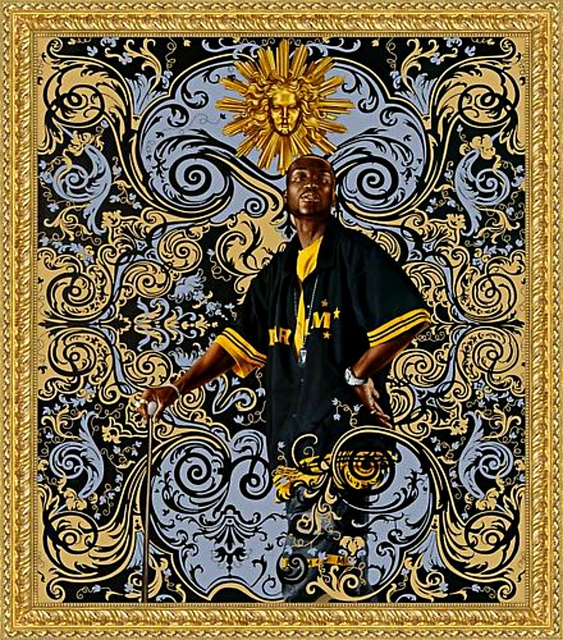 Kehinde Wiley, 'Large Beach Towel', ca. 2015, Alpha 137 Gallery Auction