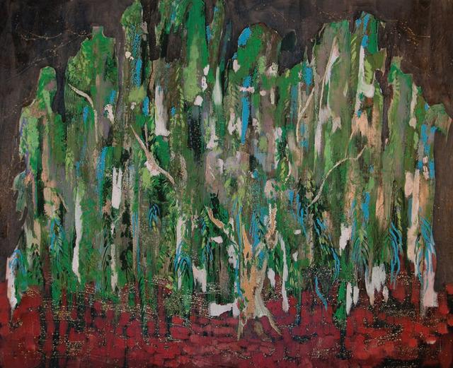 , 'Salice nel rosso,' 2016, Maddox Gallery