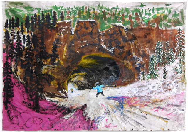 , 'Hole in the Wall,' 2007-2009, Santa Monica Museum of Art