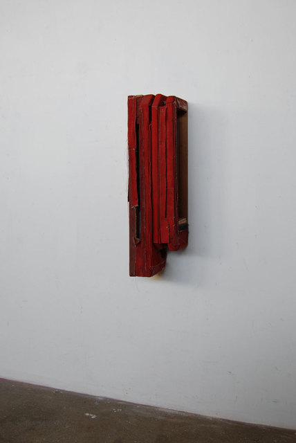 , 'Cadmium Red Deep Wallwork,' 2011, FOLD Gallery