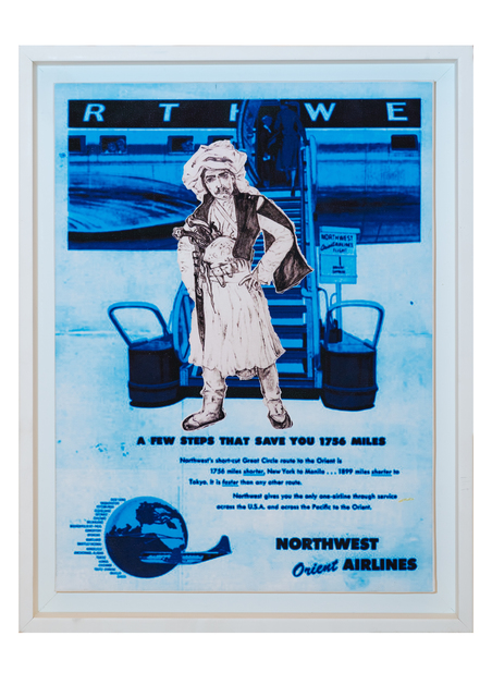 , 'Bon Voyage - Northwest Orient,' 2017, Janet Rady Fine Art