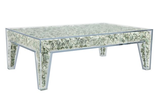 Benjamin Rollins Caldwell, 'Impractically Comfortable Low Table', 2010