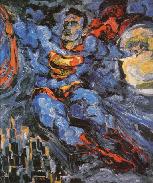 , 'Superman,' 1952, Andy Warhol Museum