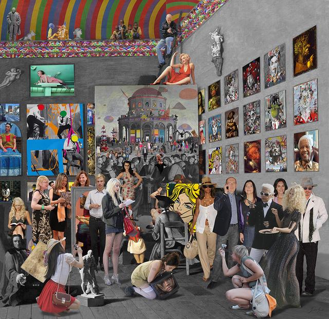 , 'Study of the painter. Pierre Subleyras,' 2012, Galeria Contrast