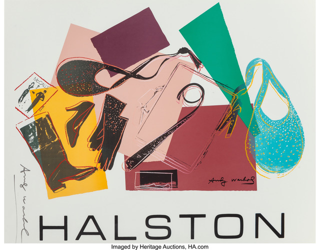 Andy Warhol, 'Halston Advertising Campaign Poster (Women's Accessories)', 1982, Heritage Auctions