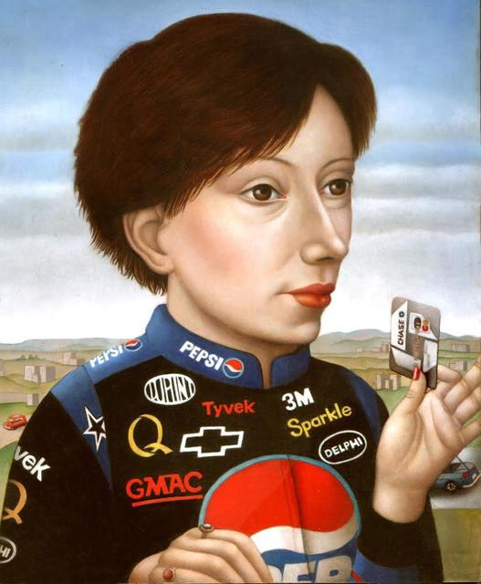 , 'Woman with Nascar Jacket,' , Front Room Gallery