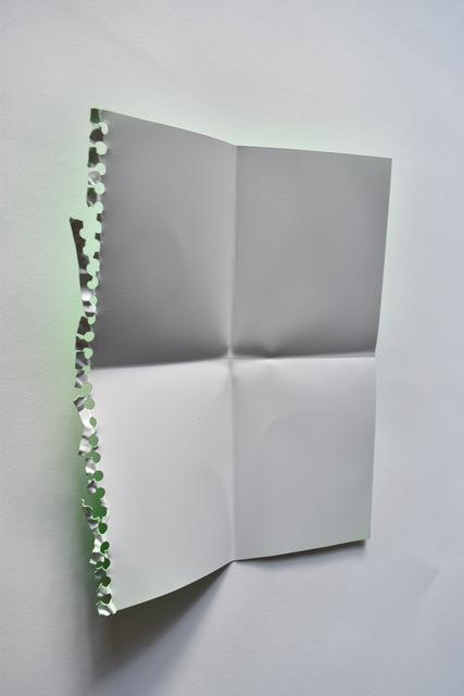, 'Vert Fluorescent,' 2018, Galerie Youn
