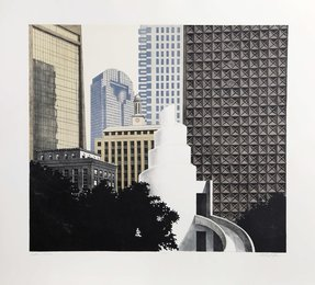 Richard Haas, 'Dallas Skyline,' 1989, Heritage Auctions: Holiday Prints & Multiples Sale