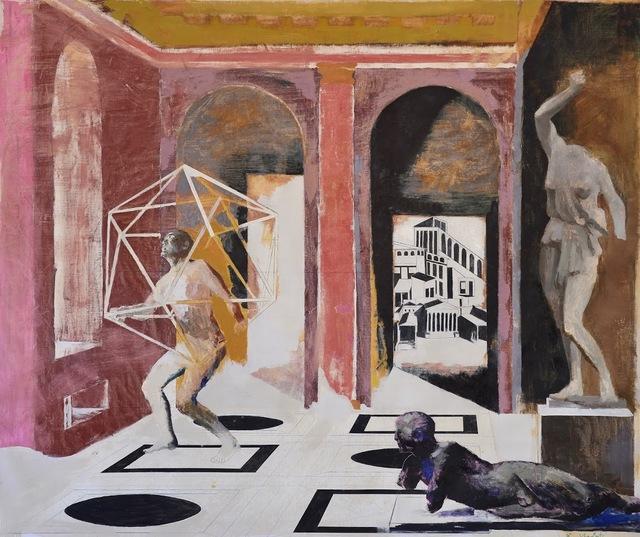 Bogdan Vladuta, 'Homo Faber in roman interior', 2017, Allegra Nomad Gallery