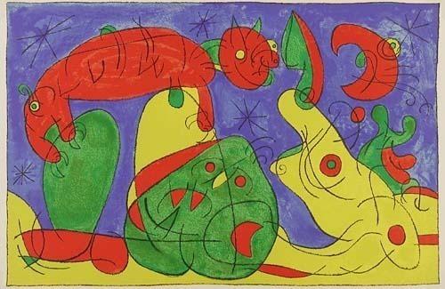 Joan Miró, 'XI. Ubu Roi: La Nuit, L'Ours', 1966, Contessa Gallery