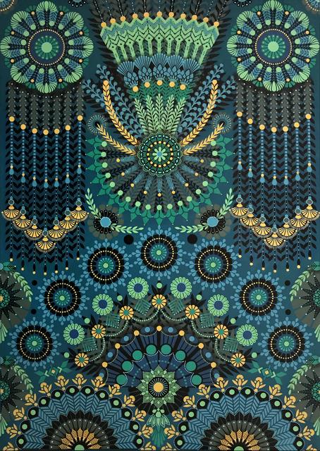 Koralie, 'Kaleidoscopic Nature #15', 2018, Ground Effect Gallery