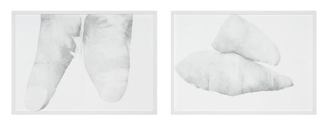, 'Beziehungen. liegt oben auf. neben,' 2015, Galerie Thomas Schulte