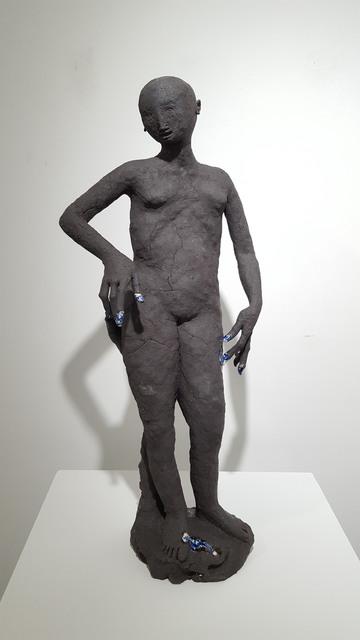 , 'Untitled 2 (Black),' 2017, JanKossen Contemporary