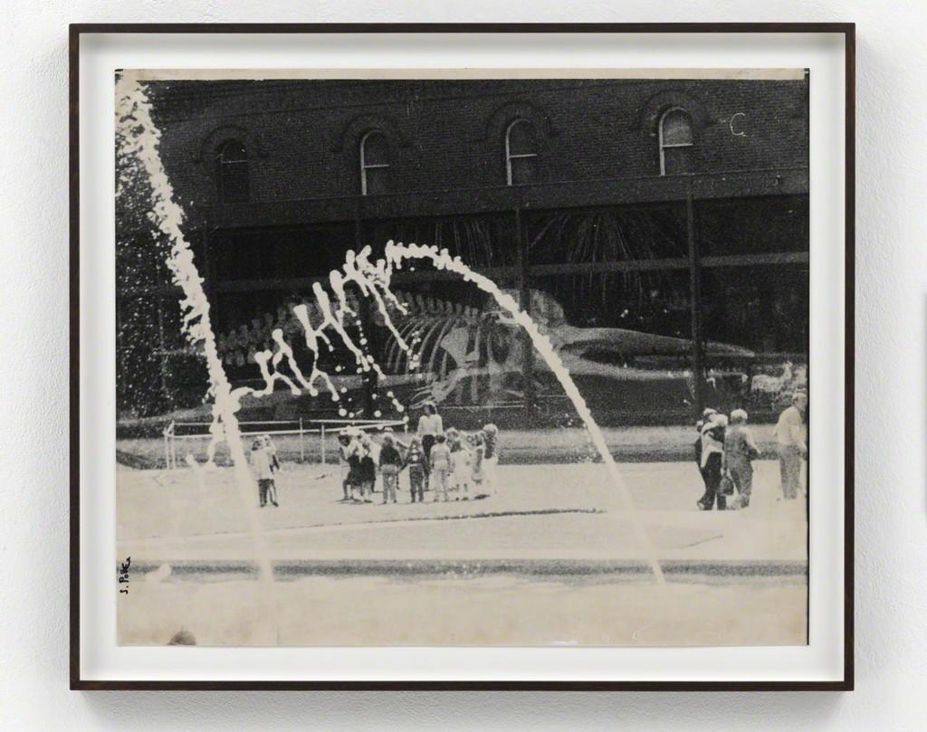 Sigmar Polke Ohne Titel, 1982 - 1983 Gelatin silver print Unique 50 x 60 cm / 19 2/3 x 23 2/3 in Framed: 68 x 58 x 4 cm