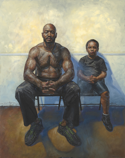 , 'Father and Son,' 2019, Gallery Victor Armendariz