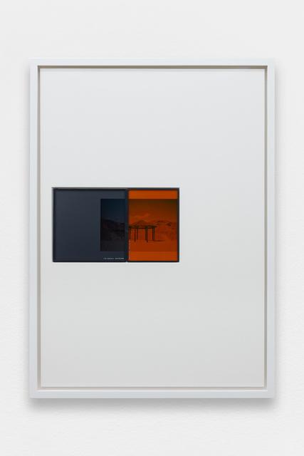 , 'IRND Platinium/Amber/3,' 2016, Galerie Allen