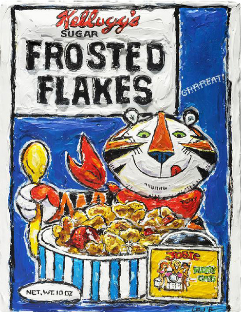 , 'Frosted Flakes- They're GRRRREAT,' 2012, Madelyn Jordon Fine Art