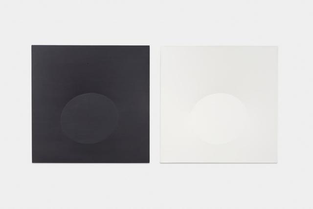 , 'Dittico bianco e nero,' 2014, Almine Rech Gallery