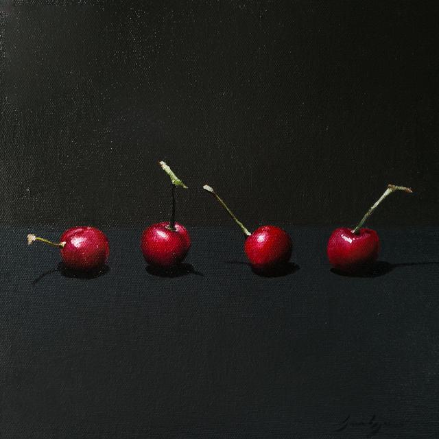 , 'Four Cherries,' 2018, Ro2 Art