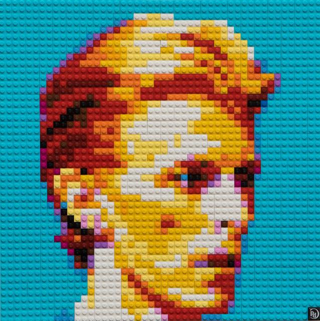 , 'Lego Portrait,' 2016, Zhou B Haus der Kunst
