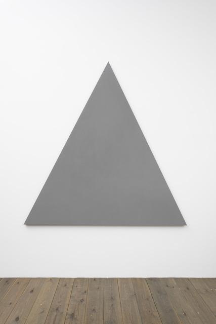 Alan Charlton, 'Triangle Painting', 2015, Slewe Gallery