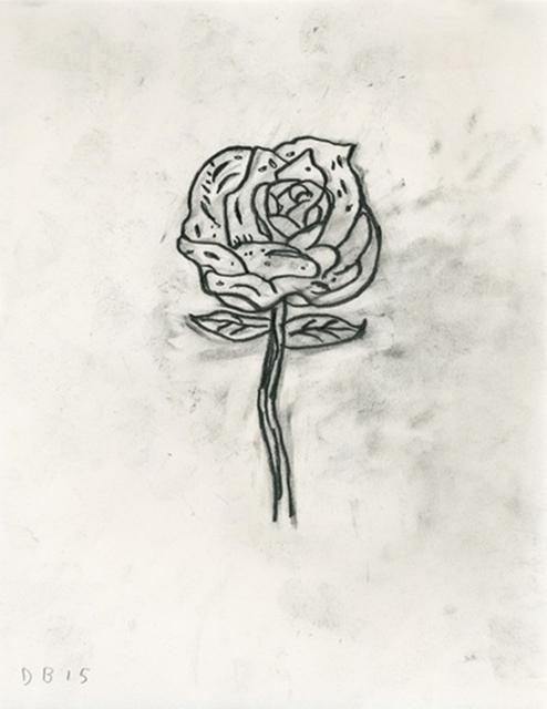 Donald Baechler, 'Untitled (Rose)', 2015, Alpha 137 Gallery