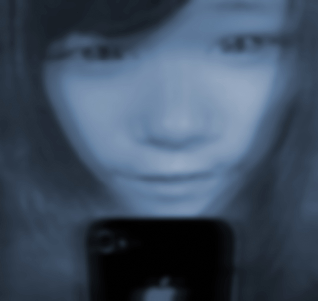 , 'Selfie iPhone Girl 02,' 2013, Huafu Art Space