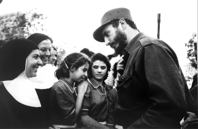 Burt Glinn, 'Fidel Castro 1960 Talk with adoring crowd', 1960, Tulla Booth Gallery