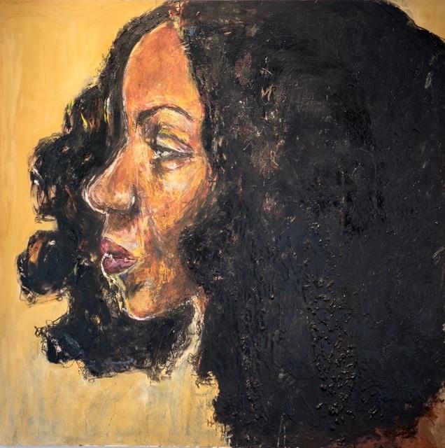 , 'AfroGalactic Girl is Jonelle Davies,' 2016, Art Village Gallery