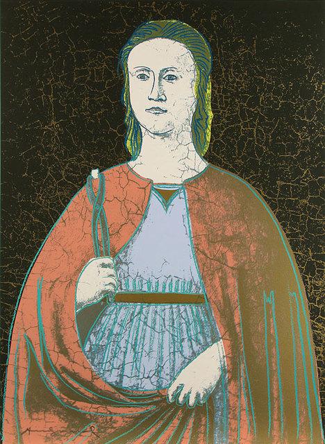 Andy Warhol, 'Saint Apollonia (FS II.331)', 1984, Print, Screenprint on Essex Offset Kid, Revolver Gallery