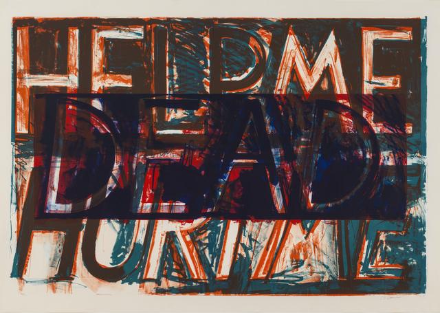 , 'Help Me Hurt Me ,' 1975, Susan Sheehan Gallery