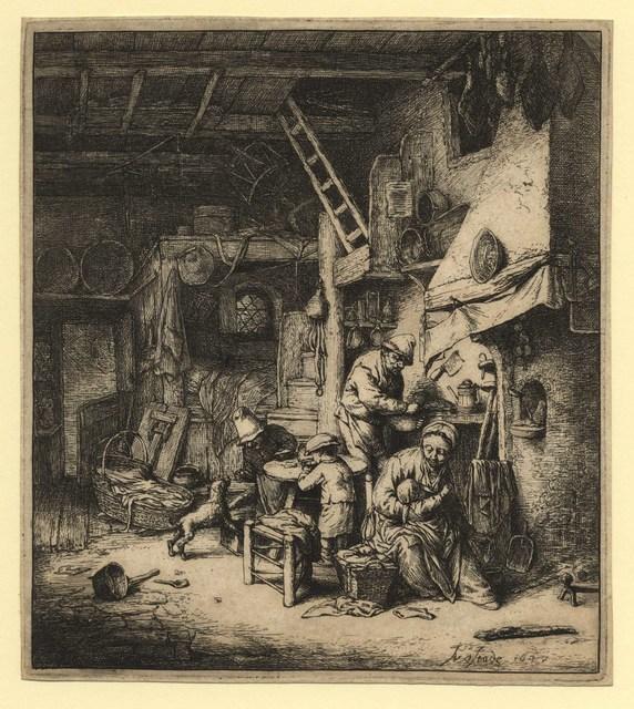 , 'The Family ,' 1647, C. G. Boerner