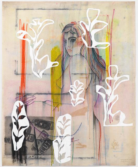 , 'Love, Slut and White Posy,' 2017, Goodman Gallery