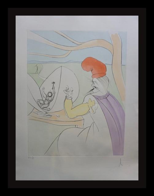Salvador Dalí, 'Japanese Fairy Tales Peach Boy', 1976, Print, Etching, Fine Art Acquisitions Dali