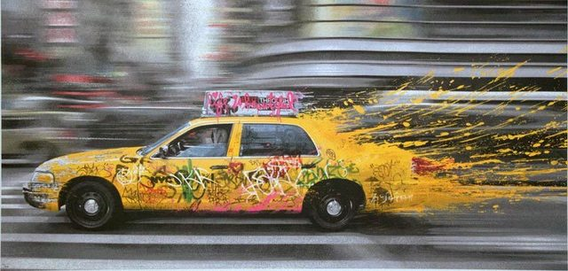 Mr. Brainwash, 'Going to NY', 2014, David Parker Gallery