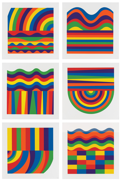 , 'Arcs and Bands in Color,' 2000, Sims Reed Gallery