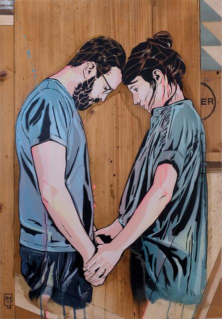 Jana & JS, 'I´ll wait', 2018, Kolja Kramer Fine Arts