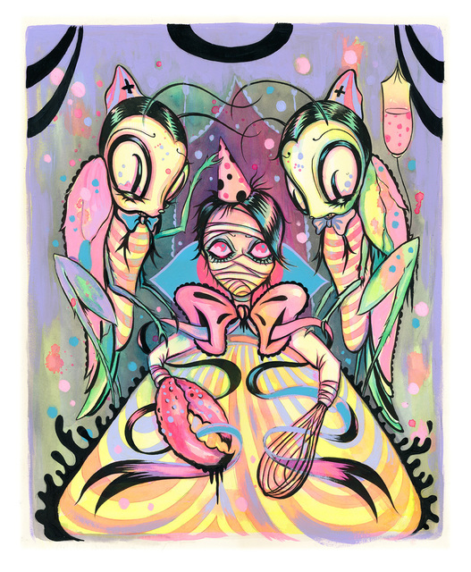 , 'The Disappearing Party,' , Corey Helford Gallery