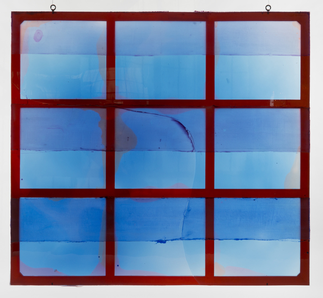 , 'Brand New Goodbye (blue),' 2014, Galerie Eva Presenhuber