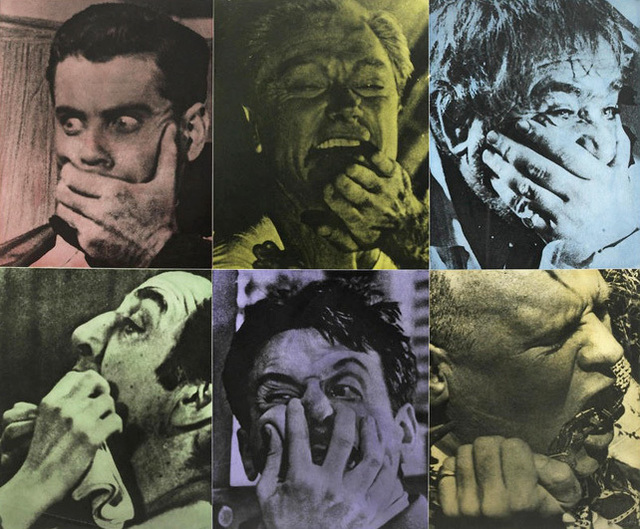 John Baldessari, 'Six Colorful Gags (Male)', 1991, Kenneth A. Friedman & Co.
