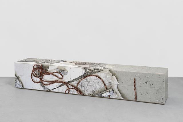 , 'bench 1,' 2017, Wentrup