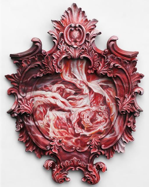 , 'Flesh Medallion,' 2017, Bert Green Fine Art