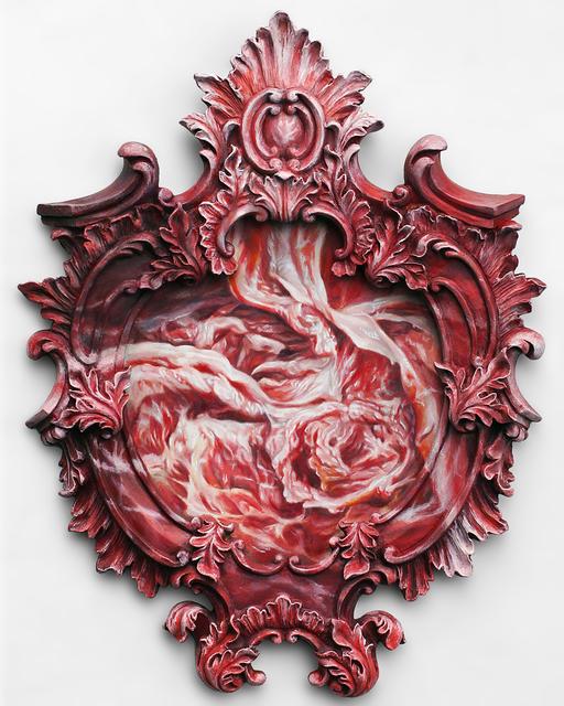 , 'Flesh Medallion,' 2017, Bert Green Fine Art