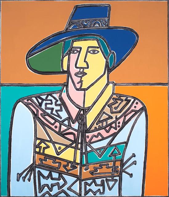 America Martin, 'Man with Hat and Shirt', 2019, Elizabeth Gordon Gallery