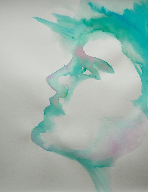 Alexandra Bregman, 'Boy's Face in Blue', 2018, MvVO ART