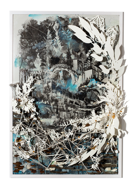 , 'My Fingers Interrupt The System Faded Against The Furrow,' 2013, Subliminal Projects