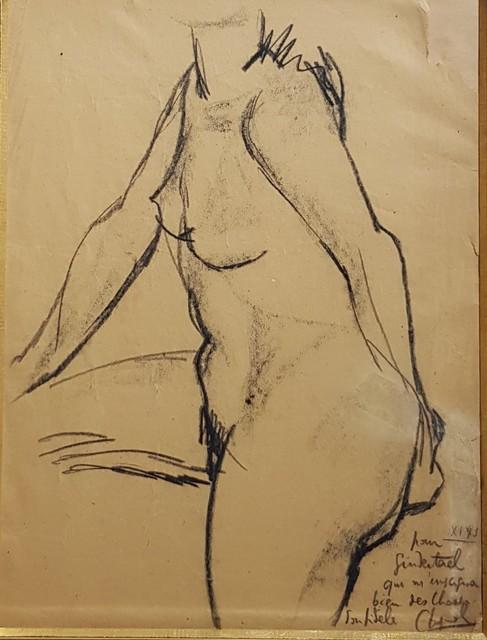 , 'Etude de nu ,' 1943, Galerie Marie-Robin